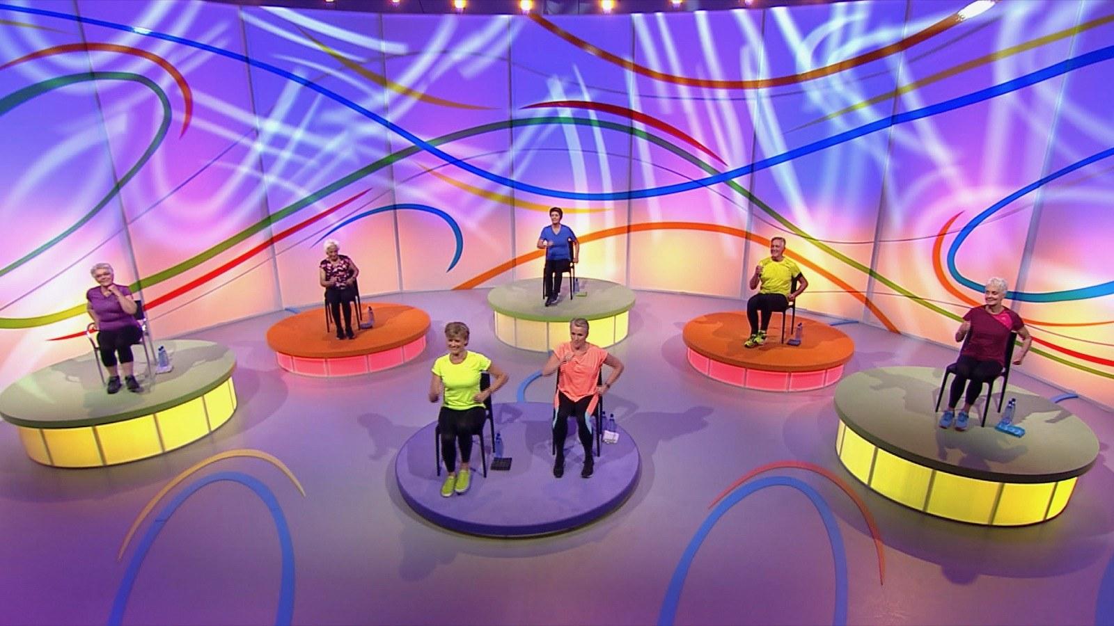Olga brengt verpleeghuis in beweging: Stoelgym oefeningen in de STV-box!