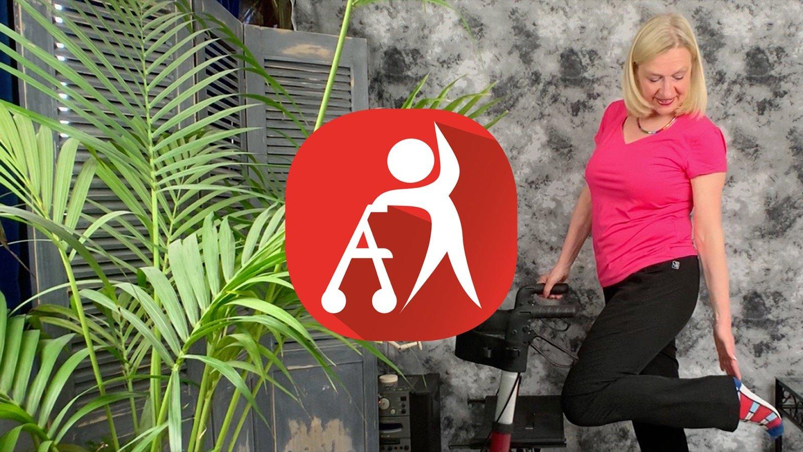 Nieuw: RollatorFIT, effectieve oefeningen om vitaal te blijven lopen en bewegen!