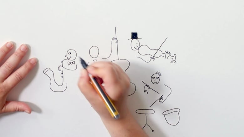 Eva Gans tekening